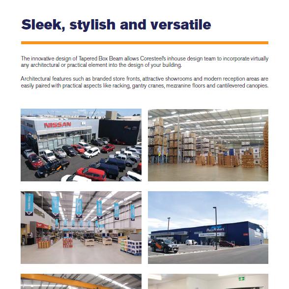 Coresteel Buildings NZ - Brochure Copywriting and Design