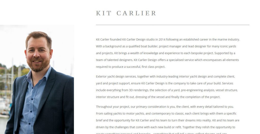 Kit Carlier Design - Photography and Copywriting