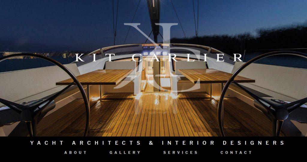 Kit Carlier Design - Website Copywriting