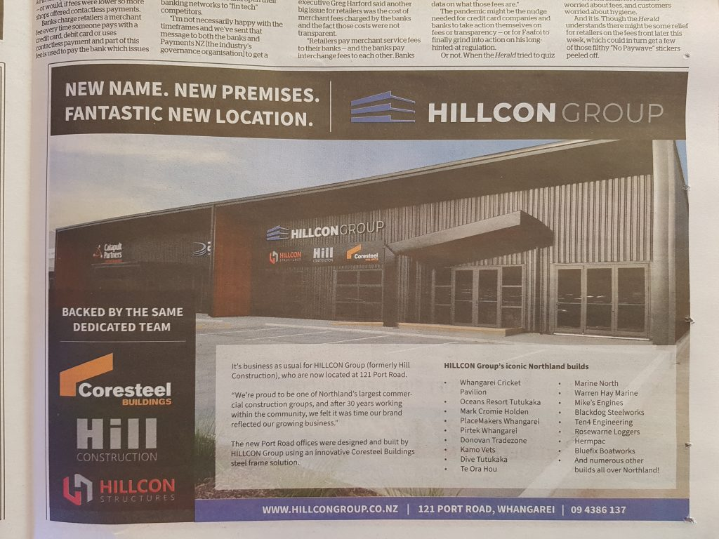 Advertising feature in Northern Advocate newspaper