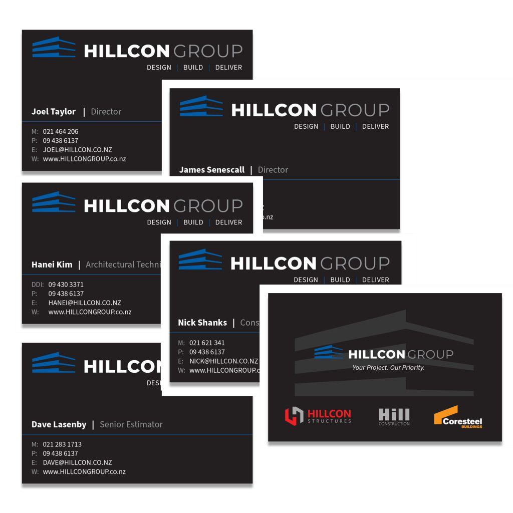 HILLCON Group business cards